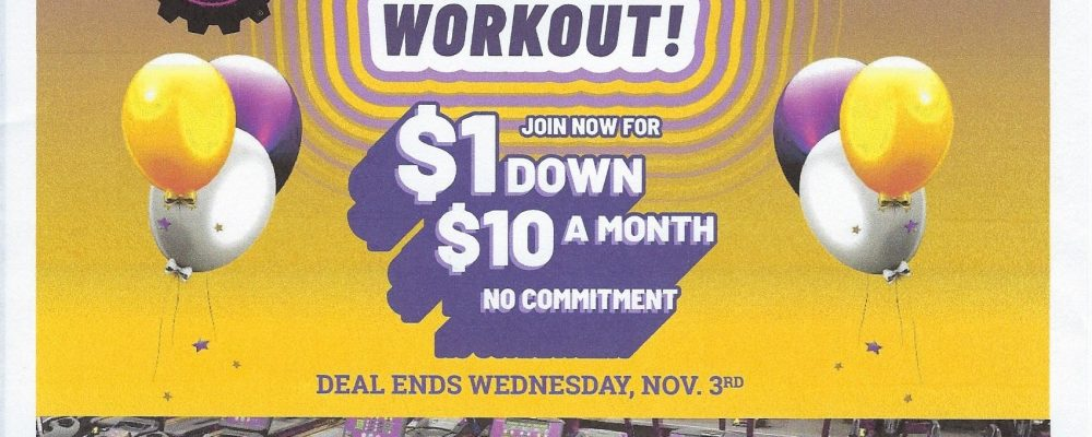 Celebrate the grand re-opening of Planet Fitness with a ribbon cutting!!