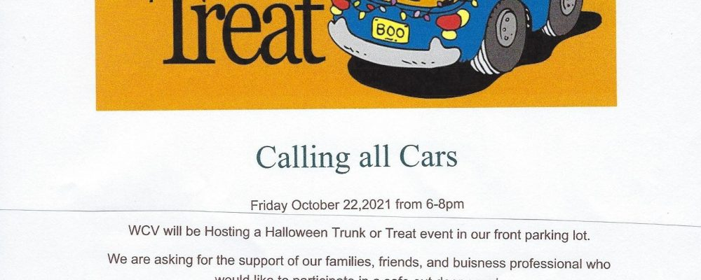 """Wildwood Canyon's ' Trunk or Treat"""""""