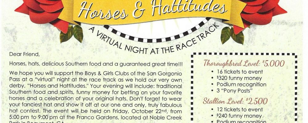 Boys & Girls Club Horses & Hattitudes