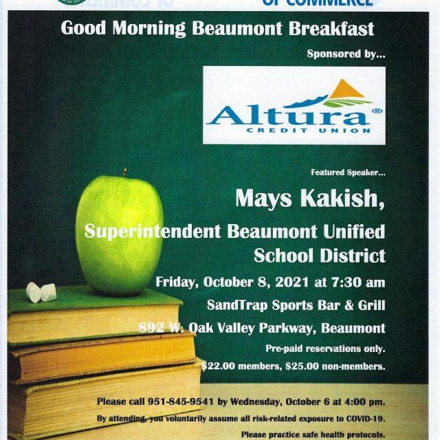 Good Morning Beaumont Breakfast